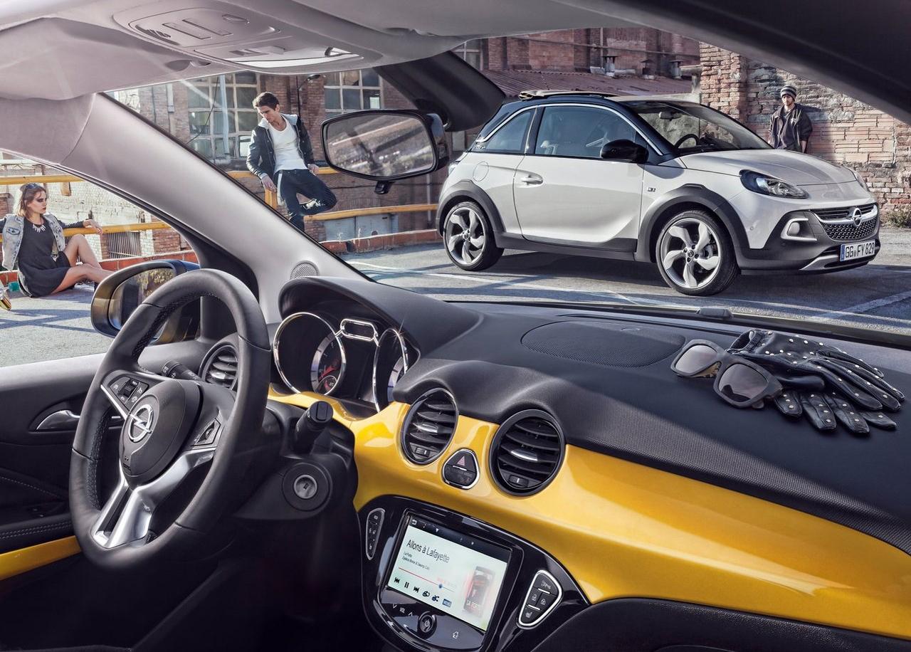 modelado 3D, automoción, 3D, coche, diseño de coches, diseño gráfico, opel, adam, rocks, design car, car, design, survendesign