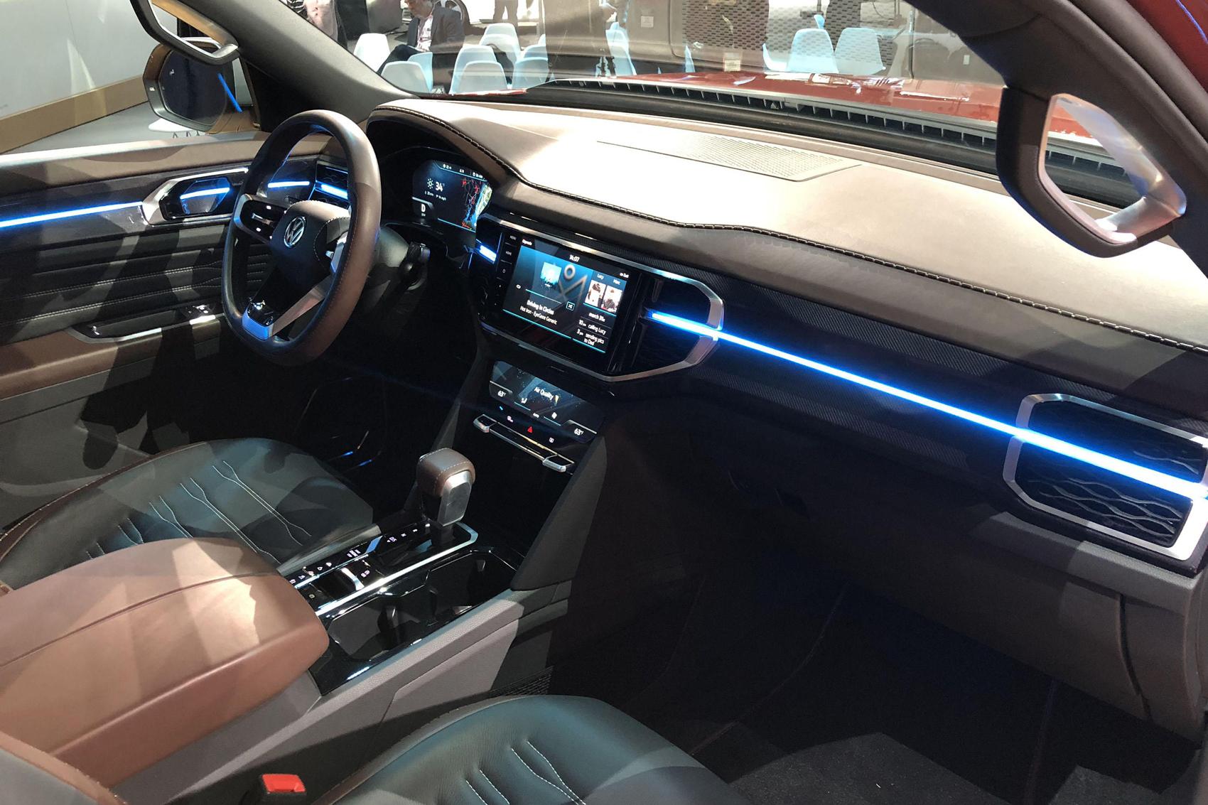 modelado 3D, automoción, 3D, coche, diseño de coches, diseño gráfico, Volkswagen, Nueva York, NY, salón automóvil, show car, pickup, Atlas Tanoak