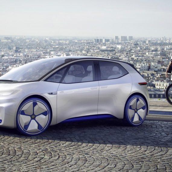 I.D Volkswagen modelado 3D, automoción, 3D, coche, diseño de coches, diseño gráfico, ID, VW, volkswagen, salón automóvil, Paris, eléctrico, concept car, survendesign